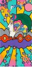 Peter Max (American, b. 1937) Different Drummer. Detail Version Acrylic on canva