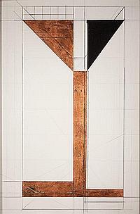 BRUCE ROBBINS (American, b. 1948) Bridge Variation #8,