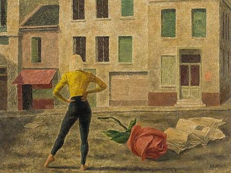 WALTER CHARLES KLETT (American, 1897-1966) Paris is a R
