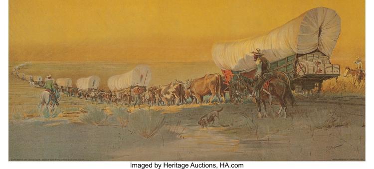 OSCAR EDWARD BERNINGHAUS (AMERICAN, 1874-1952) SERIES OF ANHEUSER-BUSCH ADVERTIS