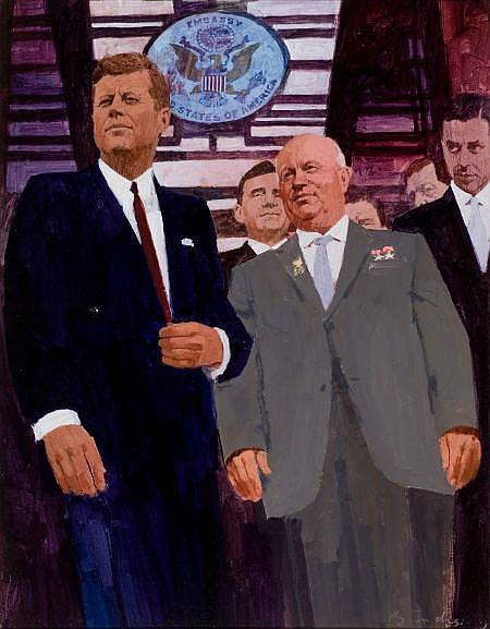 BERNARD FUCHS (American, 1932-2009) President