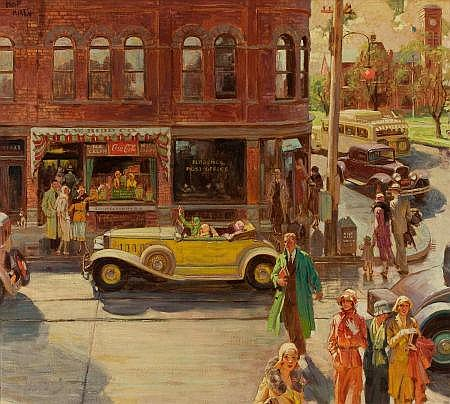 FREDERIC KIMBALL MIZEN (American, 1888-1964)
