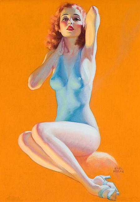 EARL MORAN (American, 1893-1984) Golden Hours, c.