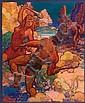 HENRY JAMES SOULEN (American, 1888-1965) Fight, Henry James Soulen, Click for value