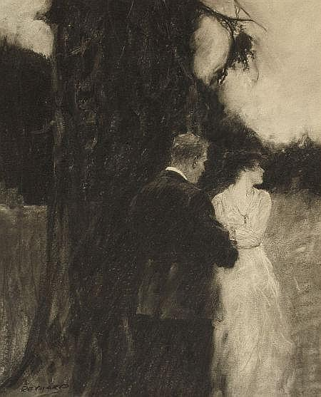GRANT TYSON REYNARD (American, 1887-1967) Romantic