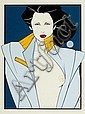 PATRICK NAGEL (American, 1945-1984) Playboy, Patrick Nagel, Click for value