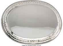 Lot 21014: A Tiffany & Co. Silver Tray, New York, 1903-1904 Marks: TIFFANY & CO., 15829, MA