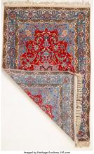 Lot 21005: An Isfahan Rug, Isfahan, Persia, mid-20th century 68 x 42-1/2 inches (172.7 x 10