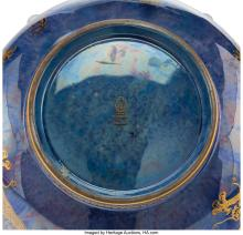Lot 21003: A Wedgwood Fairyland Lustre Porcelain Celestial Dragons Bowl, circa 1920 Marks: