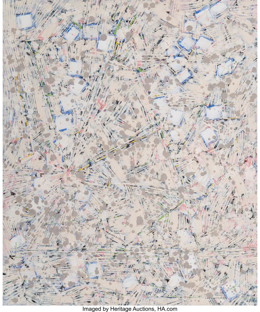 Lot 21088: Lee Mullican (American, 1919-1998) Space in Mind, Series 1 Star Chart, 1985-86 O
