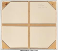 Lot 21111: Peter Loftus (American, b. 1948) Slide Area #2 (Morning Sunlight), 1984 Oil on c