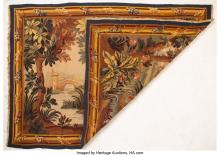 Lot 21188: An Aubusson-Style Wool Tapestry, mid-20th century 70-1/2 x 49-1/4 inches (179.1