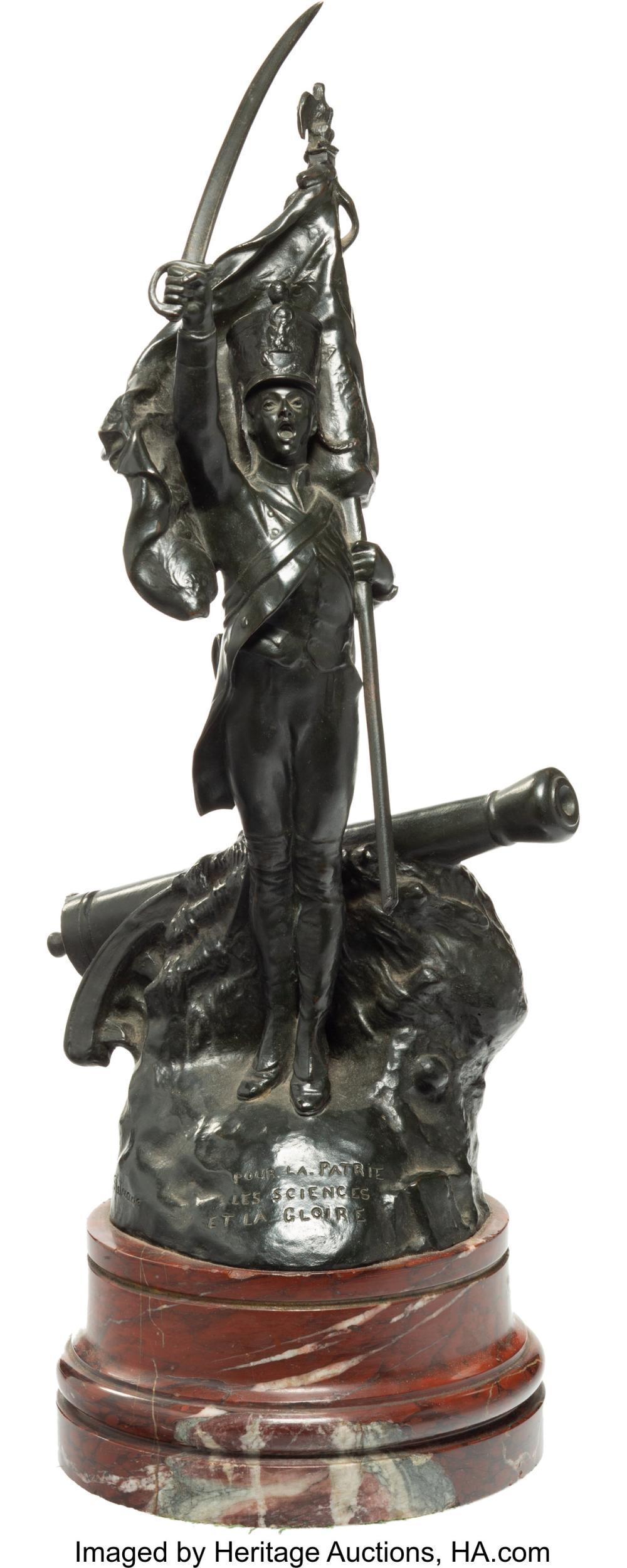 Corneille Henri Theunissen (French, 1863-1918) Pour la Patrie les Sciences et la