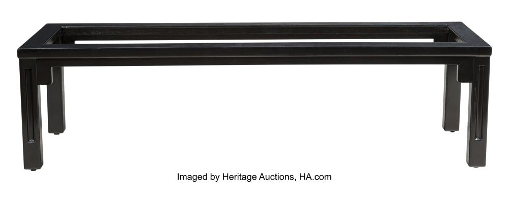 Lot 21205: Tommi Parzinger (German, 1903-1981) Coffee Table Frame, circa 1950 Lacquered woo