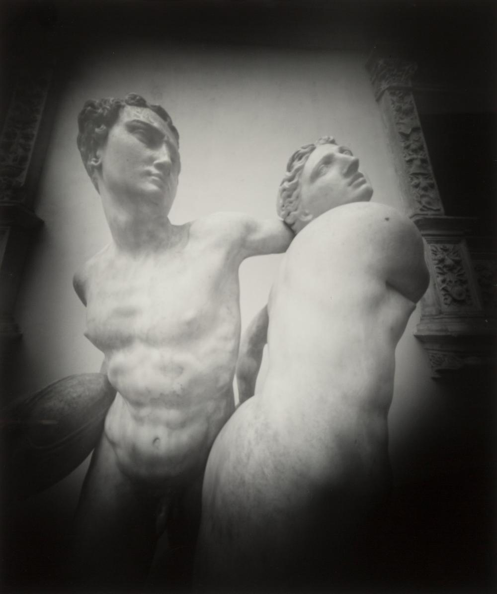 Lot 21208: Adam Fuss (British, b. 1961) Lovers, 1985 Gelatin silver 23-1/4 x 19-3/8 inches