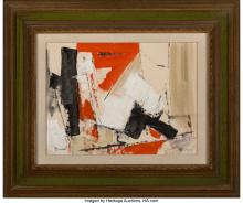 Lot 21240: Charles Ragland Bunnell (American, 1897-1968) Untitled Oil on canvasboard 11-3/4