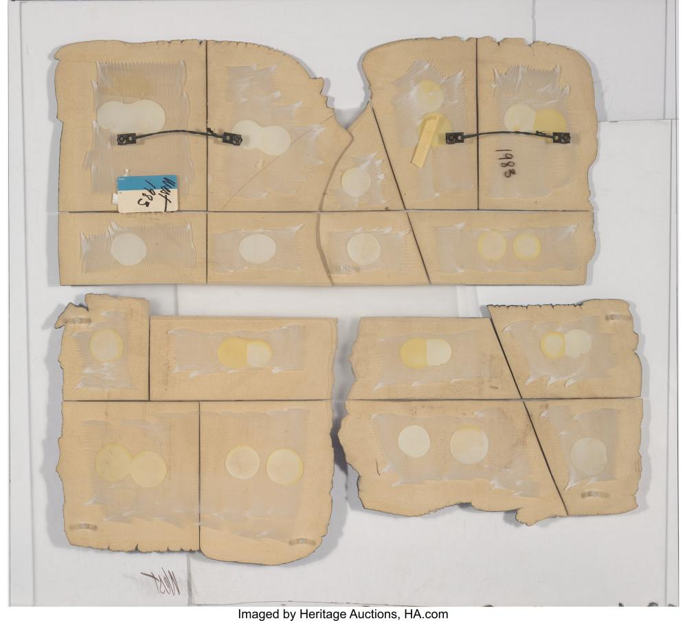 Lot 21245: Susan West (British, 20th Century) Untitled (Geological Forms), 1985 Ceramic for