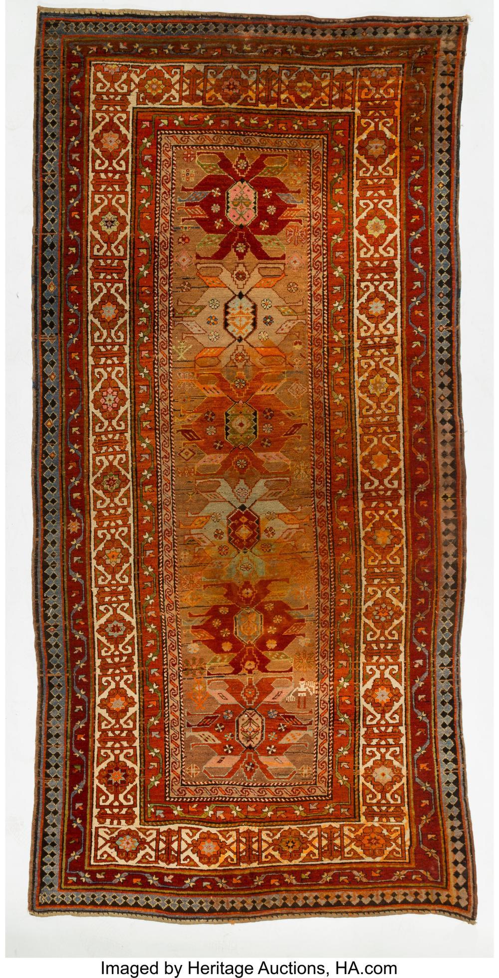 Lot 21255: A Caucasian Kuba Herat Perepedil Carpet, Northeast Azerbaijan, early 20th centur