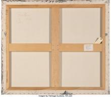 Lot 21249: Frank Faulkner (American, b. 1947) Patmos II (2 works), 1986 Acrylic on canvas 4
