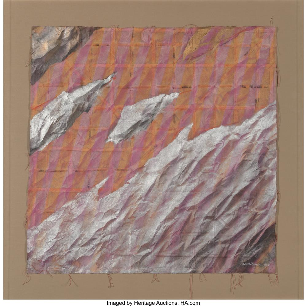 Lot 21244: Nance O'Banion (American, 1949) Marriage Series: Change in Time (Triptych) Mixed