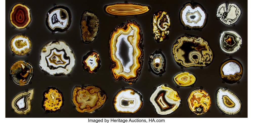 Lot 21315: Agate Board Brazil While it may not be expected that one of the most transcend