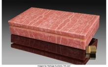 Lot 21313: Rhodochrosite Box Stone Source: Argentina Rhodochrosite has long been prized a