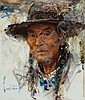 HARLEY BROWN (American, b. 1939) Grand Elder, Powderfac, Harley Brown, Click for value