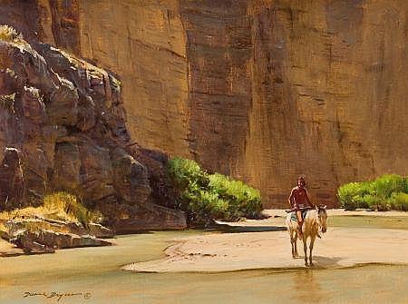 DUANE BRYERS (American, b. 1911) Apache - Santa Elena C