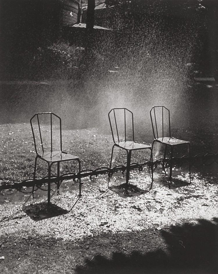 FRED STEIN (German, 1909-1967) Three Chairs, Paris, 193