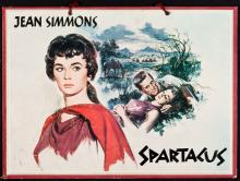 Spartacus (Universal International, 1960). German Lobby