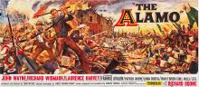 The Alamo (United Artists, 1960).  24 Sheet (104