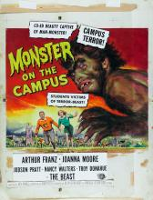 Monster on the Campus by Reynold Brown (Universal Inter