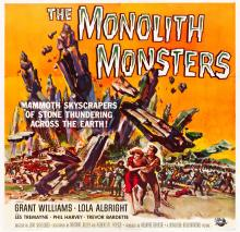 The Monolith Monsters (Universal International, 1957).