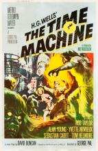 The Time Machine (MGM, 1960). Poster (40