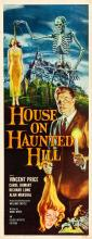 House on Haunted Hill (Allied Artists, 1959). Insert (1