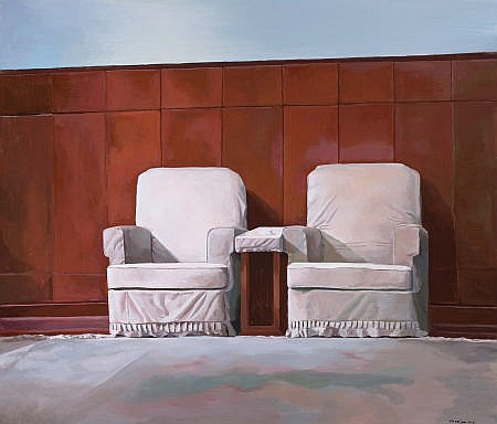 LIU WEIJIAN (Chinese, b. 1981) Two Leaders, 2006 Acryli