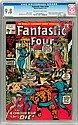 Fantastic Four #104 (Marvel, 1970) CGC NM/MT 9.8 Off-wh, Andy Nixon, Click for value