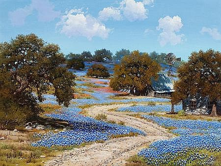 WILLIAM A. SLAUGHTER (American, 1923-2003) Tranquil Day