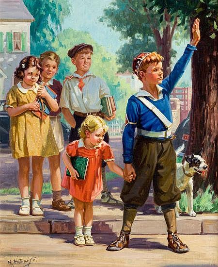HY (HENRY) HINTERMEISTER (American, 1897-1972) The Cros