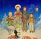DOUGLASS CROCKWELL (American, 1904-1968) Christmas Caro, Douglass Crockwell, Click for value