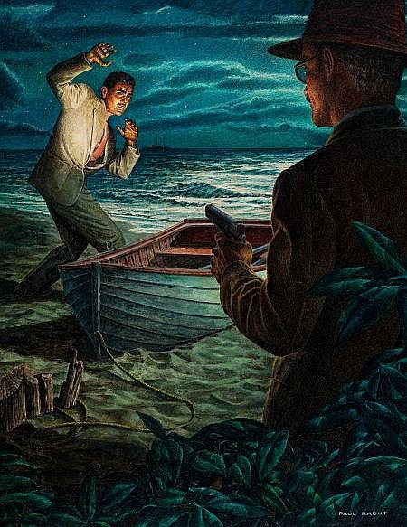PAUL RABUT (American, 1914-1983) Rendezvous with Death,
