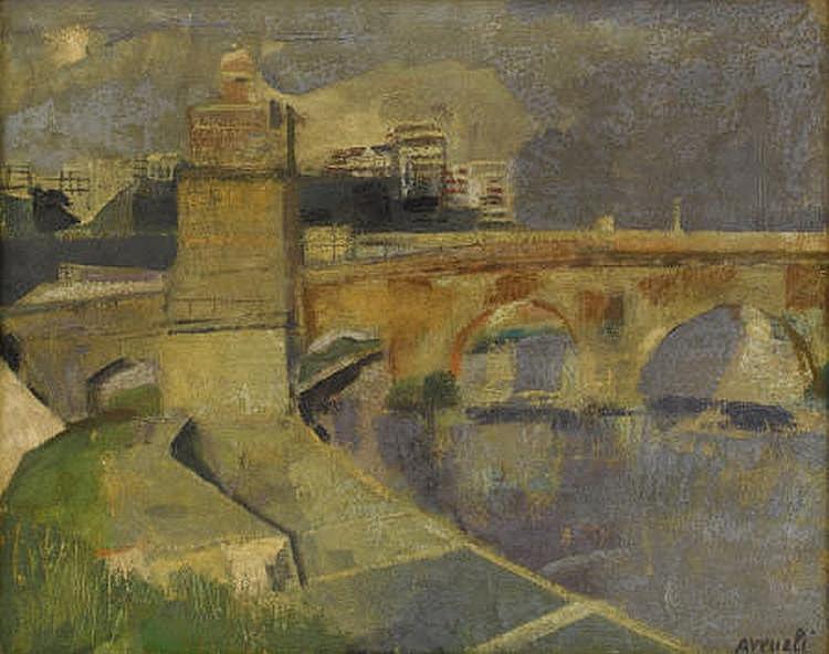 MARCELLO AVENALI (Italian 1912-1981) TITLE Oil on