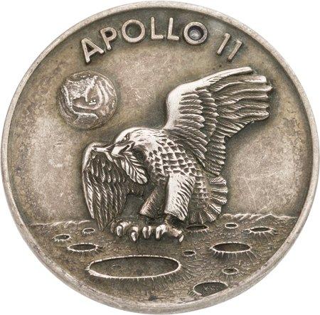 silver medallion apollo 11 coin - photo #44