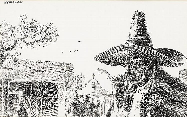 JOSE CISNEROS (b. 1910)