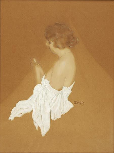 RAPHAEL KIRCHNER (American 1867 - 1917) Fanny