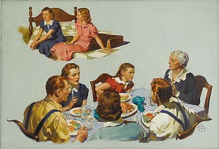 FRANK C. BENSING (American 1893 - 1993) Shady