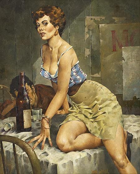 JAN WILLS (American 1928 - 2000) Paperback cover