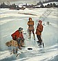 JOHN PHILIP FALTER (American 1910 - 1982) Winter, John Philip Falter, Click for value