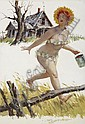 DUANE BRYERS (American b.1911) Hilda, calendar, Duane Bryers, Click for value