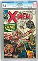 X-Men #10 (Marvel, 1965) CGC NM+ 9.6 Off-white to white, Hans Viktor Nilsson, Click for value